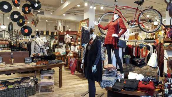 La boutique Shannon Passero à Thorold. (Photo: Nathalie Prézeau)