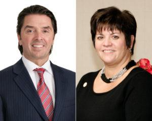 CSDCCS: le DG André Blais et la présidente Melinda Chartrand.