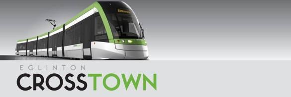 Train Eglinton Crosstown