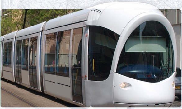 Une locomotive du futur TLR Hurontario.