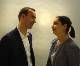 Antoine Tapin (le prince) et Marion Durand (Cendrillon).
