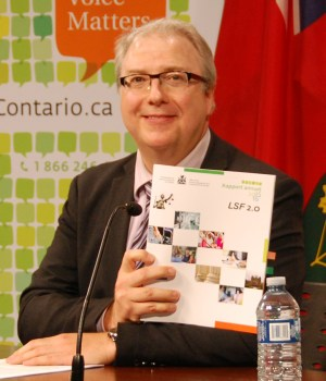 Le commissaire aux services en français de l'Ontario, François Boileau.