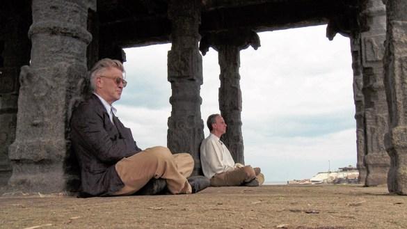 David Lynch et son disciple Bobby Roth dans Shadows of Paradise.