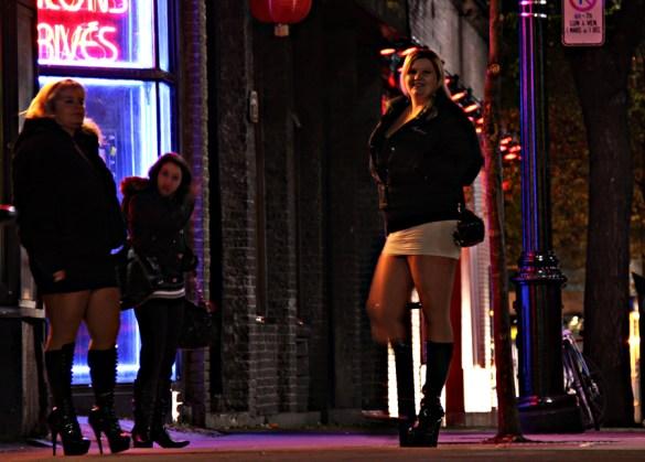 Personne ne rêve d'être prostituée. (Photo: Michel G., 2009 Montréal)
