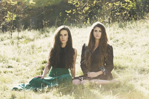 Le duo Georgian Bay: Kelly Lefaive et Joëlle Westman (Photo: Jen Squires)