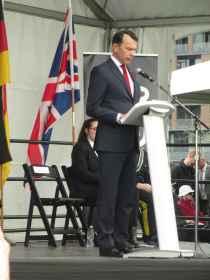 Le consul de France, Marc Trouyet.