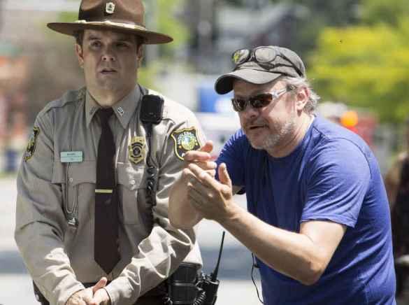 Le réalisateur de Bon Cop Bad Cop 2, Alain Desrochers. (Photo: Sébastien Raymond)