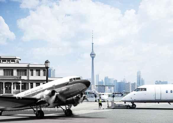 Aéroport Billy Bishop. (Photo: Archives de la ville)
