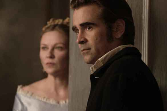 Kirsten Dunst et Colin Farrell dans The Beguiled, de Sofia Coppola.