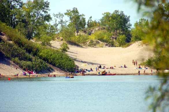L'une des dunes du parc Sandbank. (Photo: Parcs Ontario)