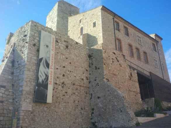 Au musée Pablo Picasso.
