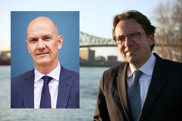 Roland Lescure (En Marche!) et Frédéric Lefebvre (LR-UDI).