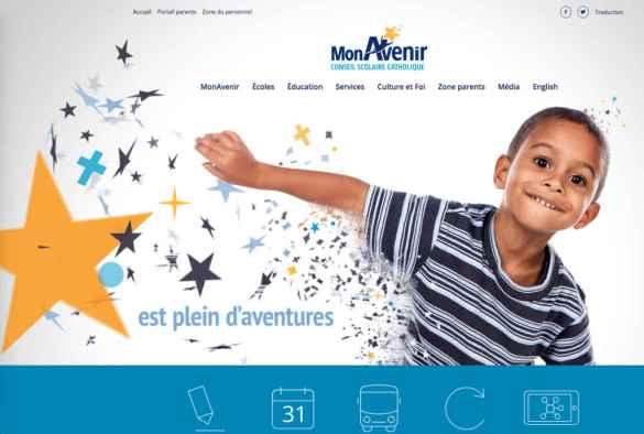Le nouveau site web cscmonavenir.ca