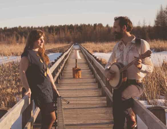 Kaitlin Milroy et Alex Milaire (Photo: Alexis Zeville)