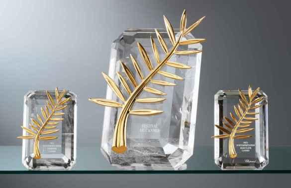 La Palme d'Or, récompense suprême du Festival de Cannes.