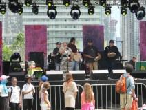 Concert au Fort York.