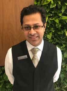 Munir Abdulla, concierge de l'hôtel Westin Toronto Airport.