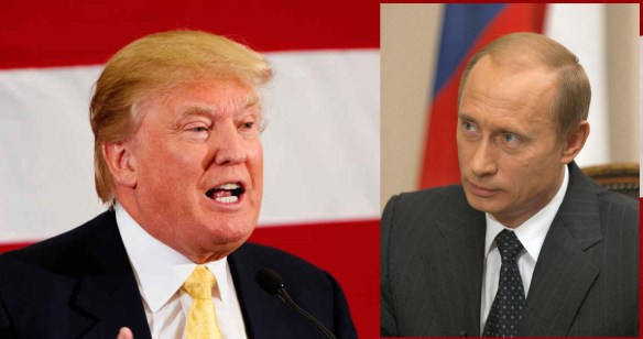 Donald Trump. Vladimir Poutine.