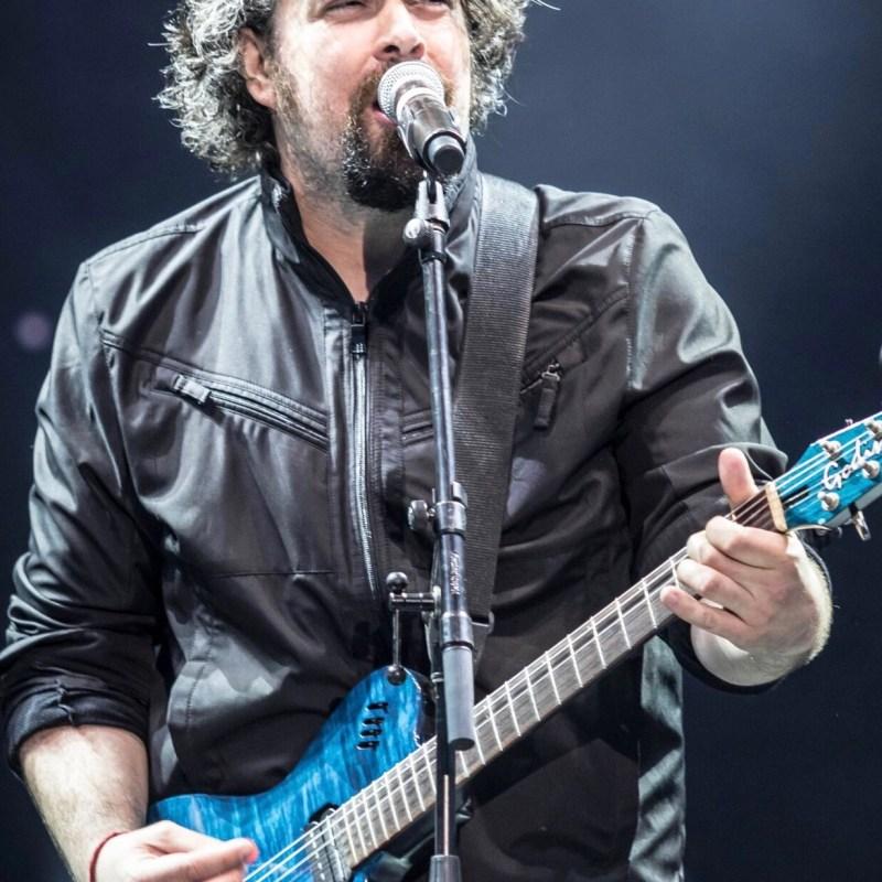 Le chanteur et musicien David Poulin. (Photo: Joël Ducharme)