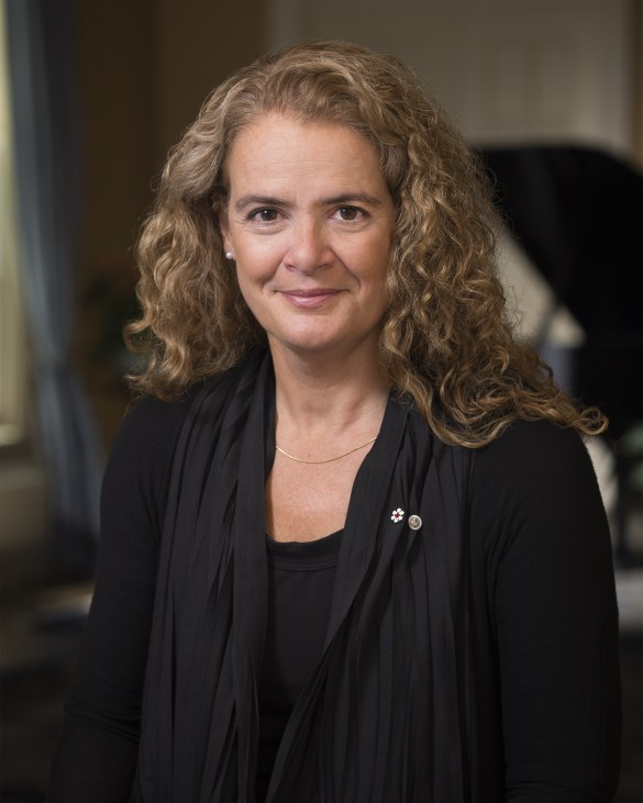 La photo officielle de la nouvelle gouverneure générale Julie Payette. (Photo: Sgt Johanie Maheu, Rideau Hall)