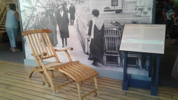 Le Musée maritime de l'Atlantique conserve des vestiges du Titanic (photo: Sandra Dorelas)