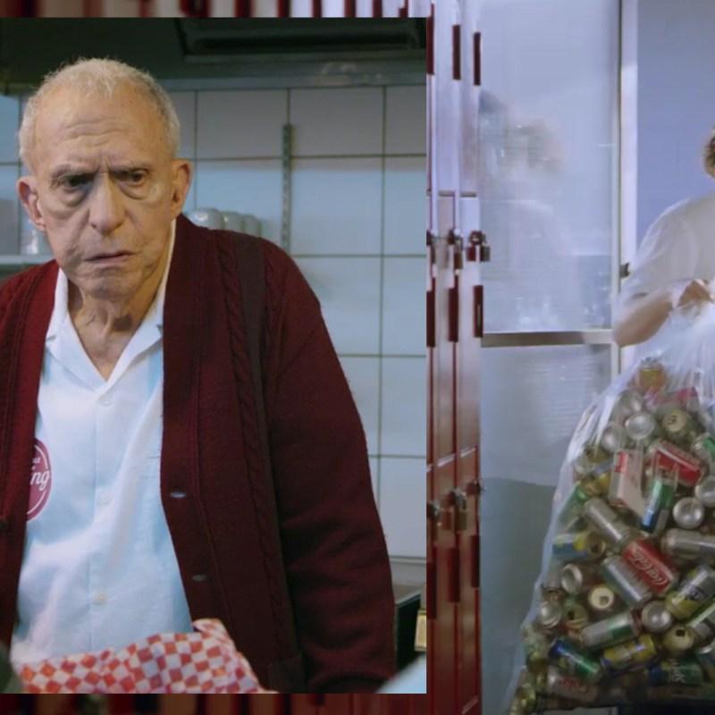 Jacques Godin et Anthony Therrien dans Vieux jeu.