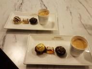 Chocolat et café de Ferrero.