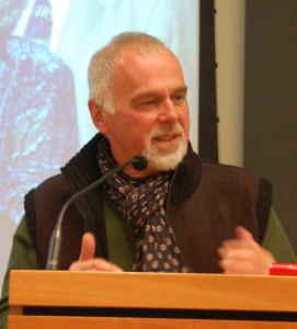 Robin Doucet, le directeur général du Salon du livre de Rimouski.