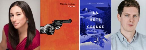 Mishka Lavigne et Christophe Bernard, Prix Québec-Ontario 2017.