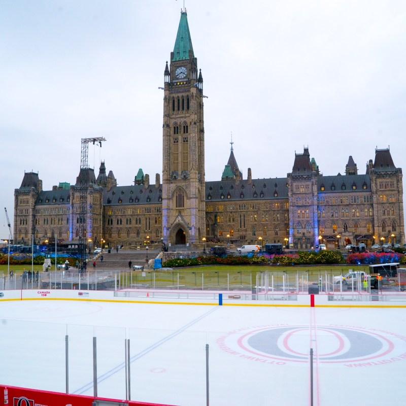 La grande Patinoire de la Colline du Parlement. (Photo: Tourisme Ottawa)