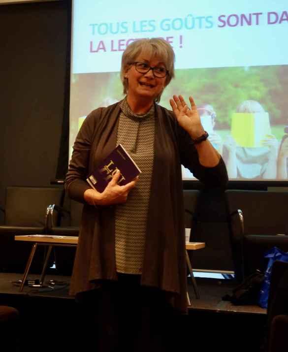 Sylvie Roberge, directrice éditoriale chez Bayard-Canada, présente Oser-Lire.