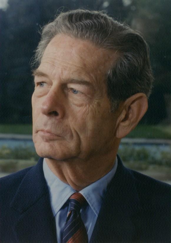 Le roi Michel de Roumanie au début des années 1990.