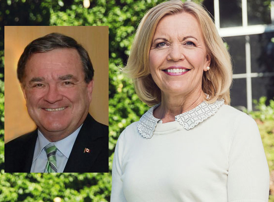 Jim Flaherty Christine Elliott