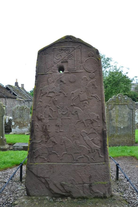 Stèle picte Écosse