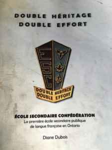 Double héritage – double effort