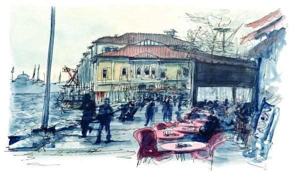 Les Platanes d'Istanbul