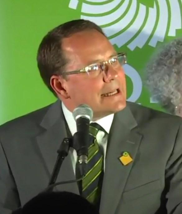 Chef du Parti Vert