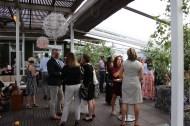 Des participants à la soirée «Sunset at the Spoke» d'Apéro Chic.