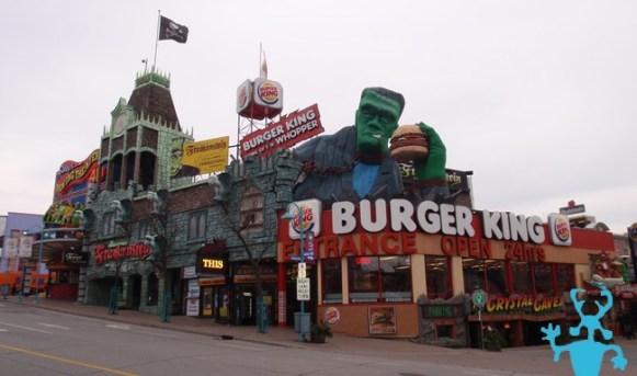 Dans la ville de Niagara