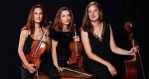 12 octobre 2018: concert de l'Ensemble des équilibres, trio à cordes français.