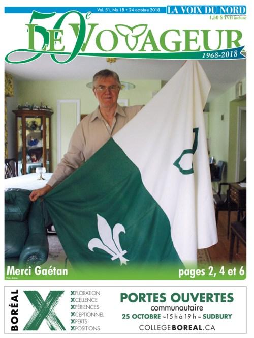drapeau franco-ontarien