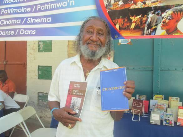 Maurice Cadet au Salon du Livre de Jacmel
