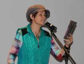 Michelle Laframboise, auteure de science-fiction jeunesse et éditrice.