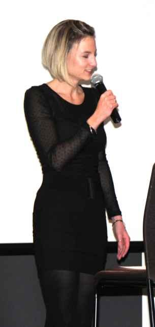 La chanteuse Mélanie Guillaume.