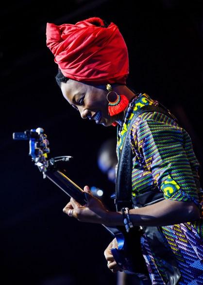 Fatoumata Diawara au festival de Glasgow