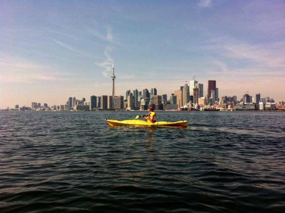 Vue de Toronto du lac Ontario