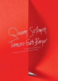 Tamara Faith Berger, Queen Solomon, Coach House Books.
