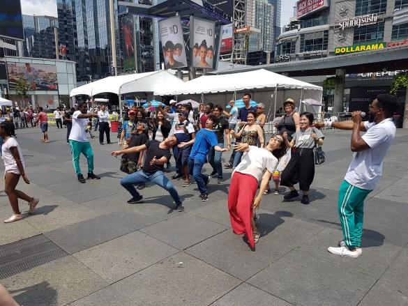 La danse limbo d'UNI-T