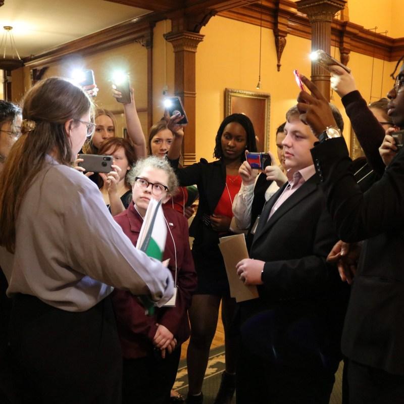 Conférence de presse des jeunes députés
