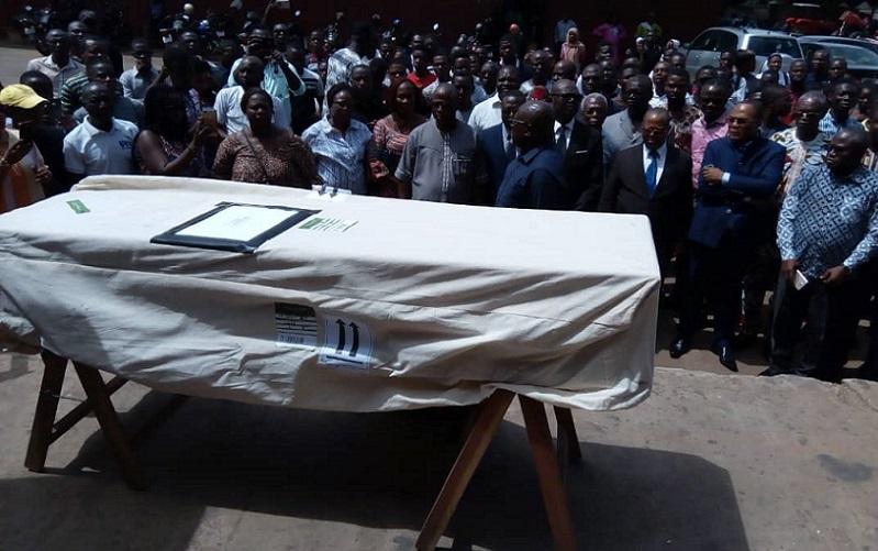 Togo-Crash d'Ethiopian Airlines arrivée de la dépouille de l'enseignant de l'UL Dr Glato à Lomé